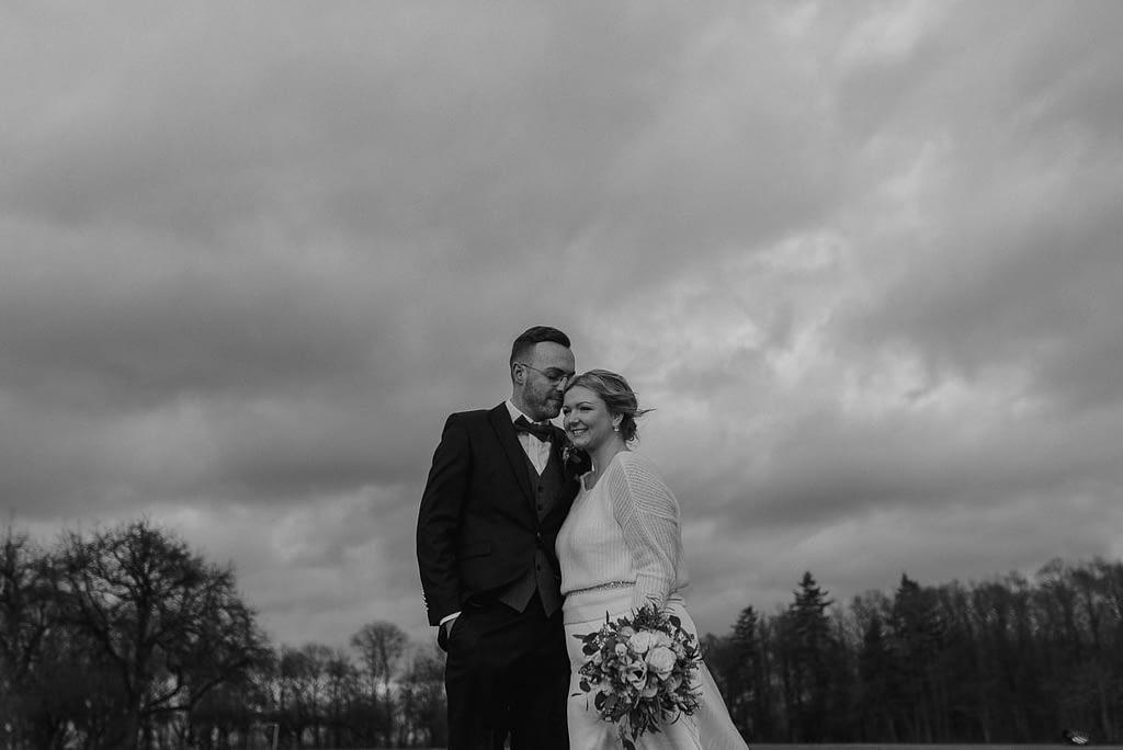 Hochzeit Shooting Einkorn im Winter auf dem Einkorn
