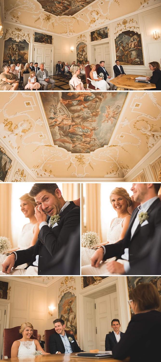 Standesamtliche Hochzeit im Rathaus in Schwäbisch Hall