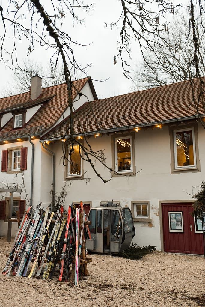 Einkorn Gasthaus bei Schwäbisch Hall als Hochzeitslocation für Winter Hochzeit