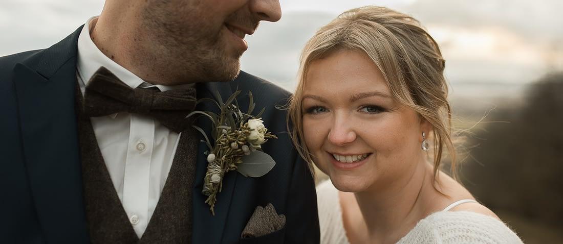 Hochzeit Fotograf Shooting auf dem Einkorn zur Winterhochzeit in Schwäbisch Hall